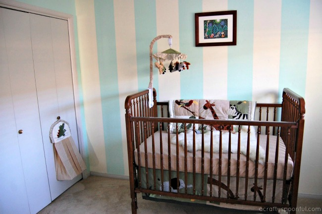 jungle animal themed nursery ideas crib and closet a crafty spoonful