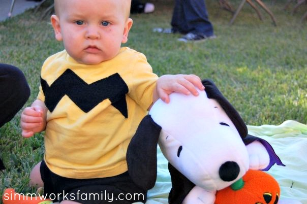 charlie brown halloween costume for baby 1
