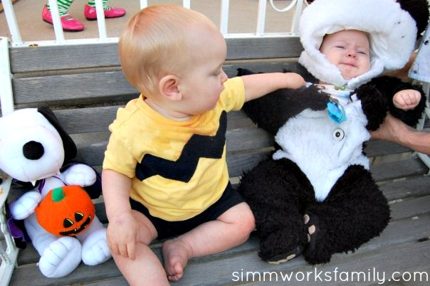 charlie brown halloween costume for baby 4