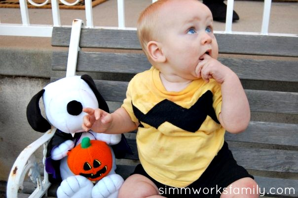 charlie brown halloween costume for baby 5
