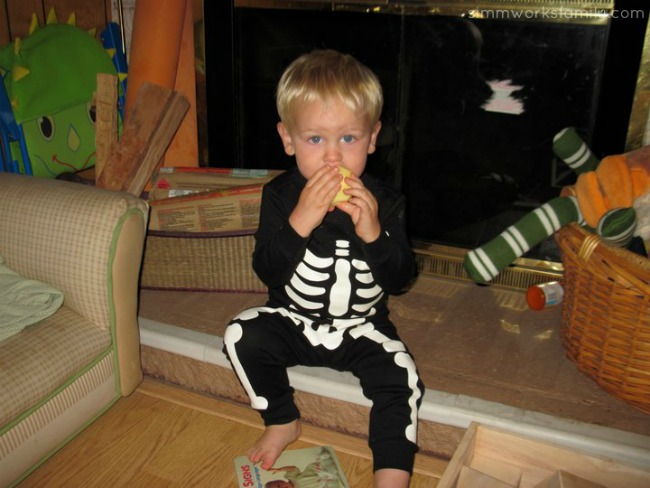 Skeleton Costume Ethan 2010