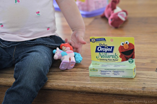 Teething Tips and Tricks with Baby Orajel