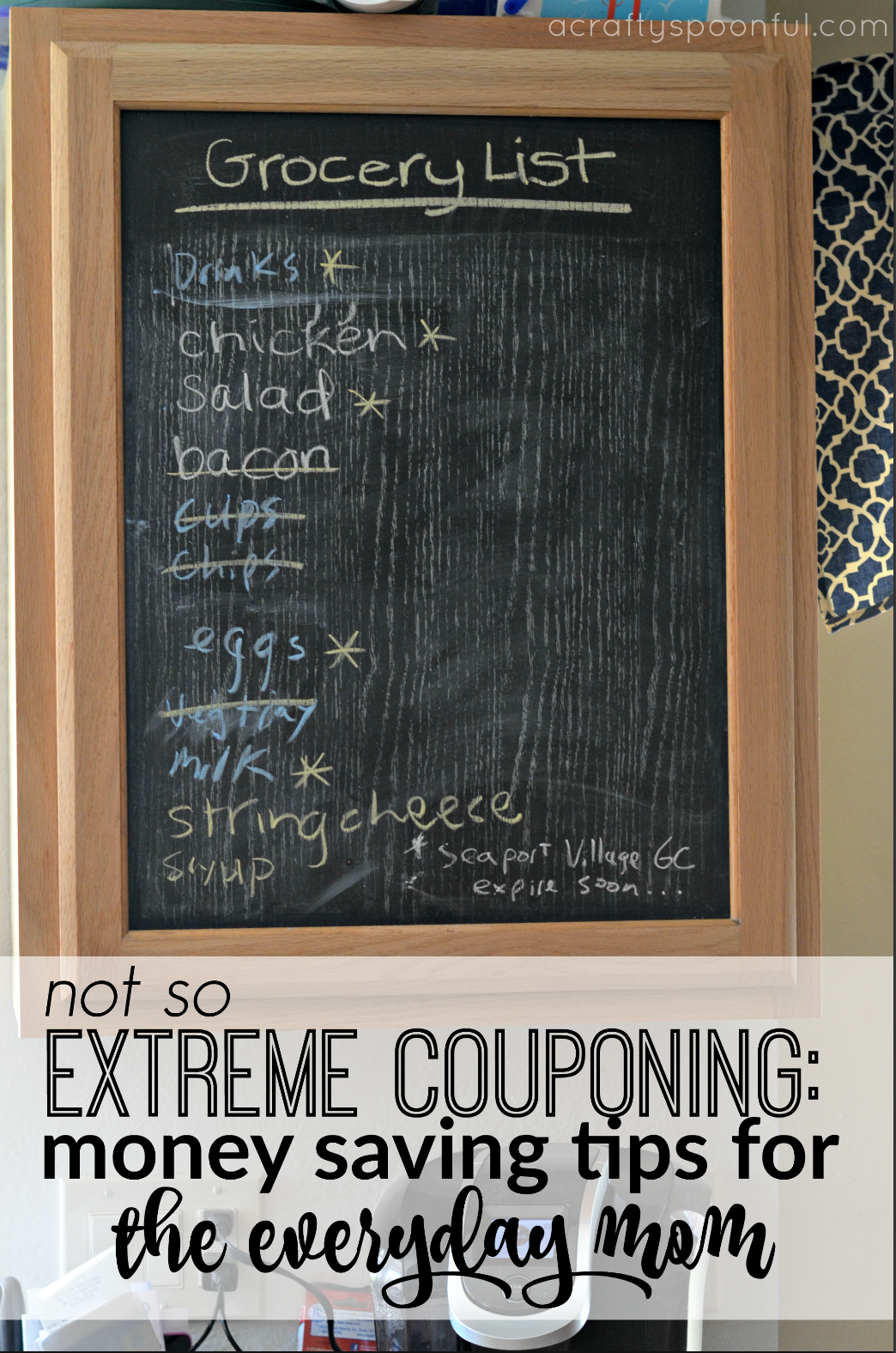 Not So Extreme Couponing: Money Saving Tips for the Everyday Mom