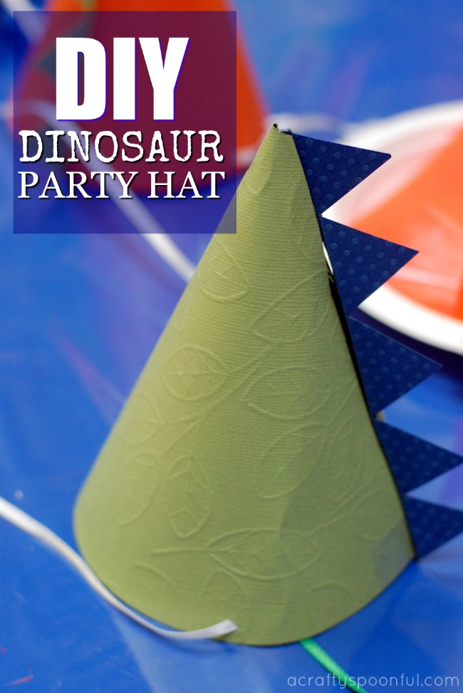 how to make dinosaur party hats a crafty spoonful