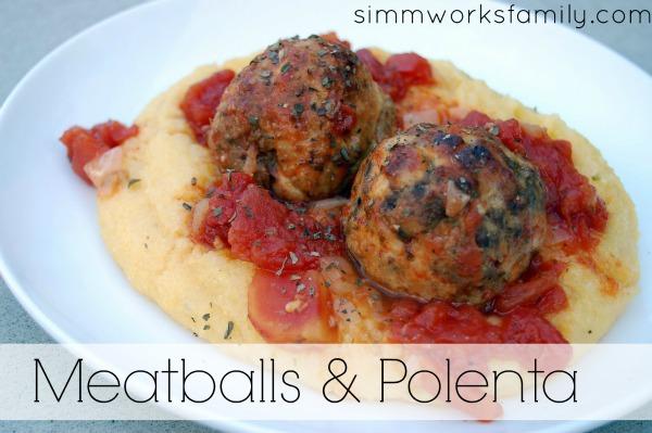 Meatballs & Polenta