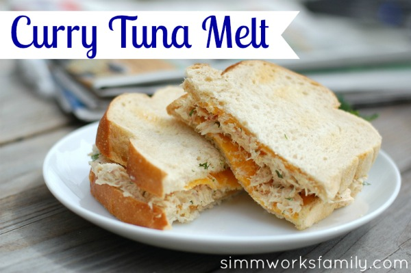 Curry Tuna Melt