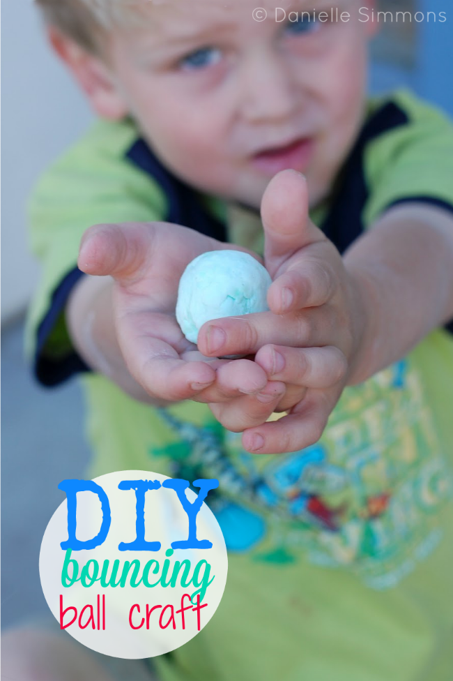 DIY Bouncing Ball Craft