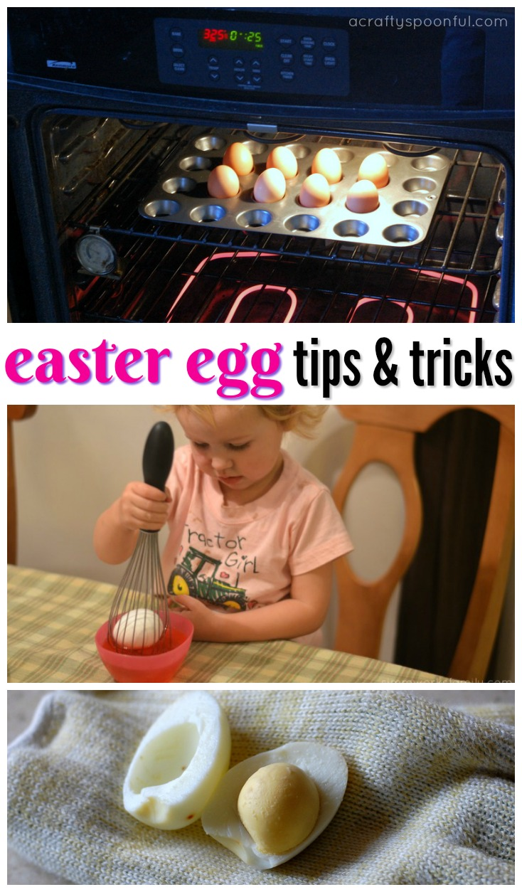 Find out how to make egg decorating easier with these Easter egg tips and tricks!