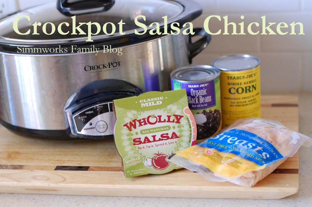 Crockpot Salsa Chicken 1