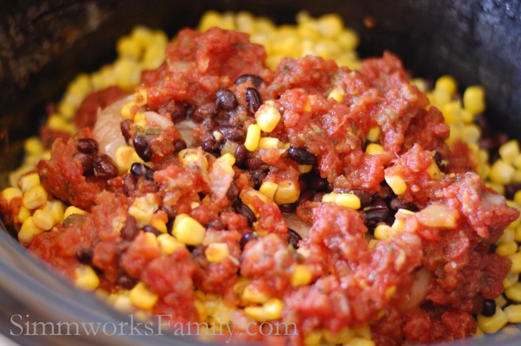 Crockpot Salsa Chicken 2