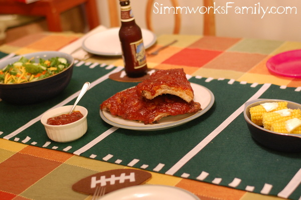 Smart & Final Tailgating baby back ribs with bbq sauce
