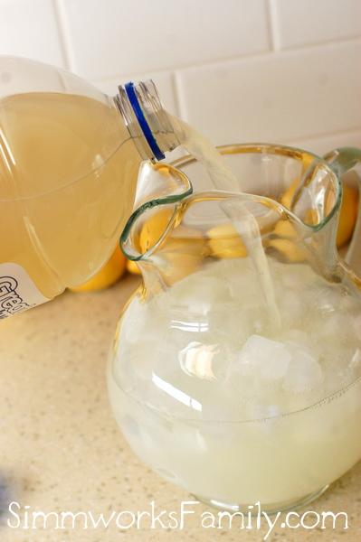 Sparkling Lemonade Iced Tea & Honey Lipton #FamilyTeaTime
