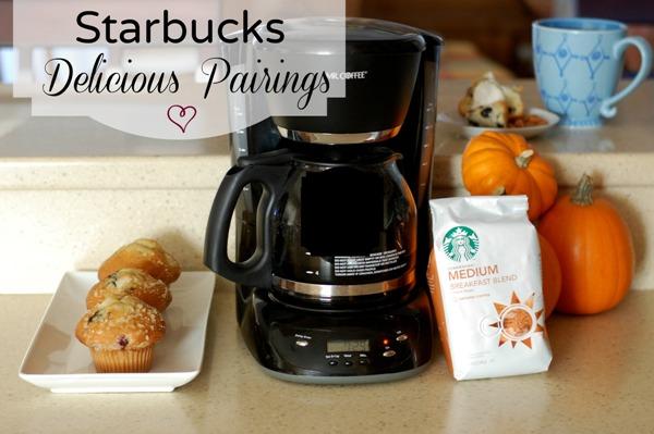 Starbucks Breakfast Blend and Blueberry Muffins