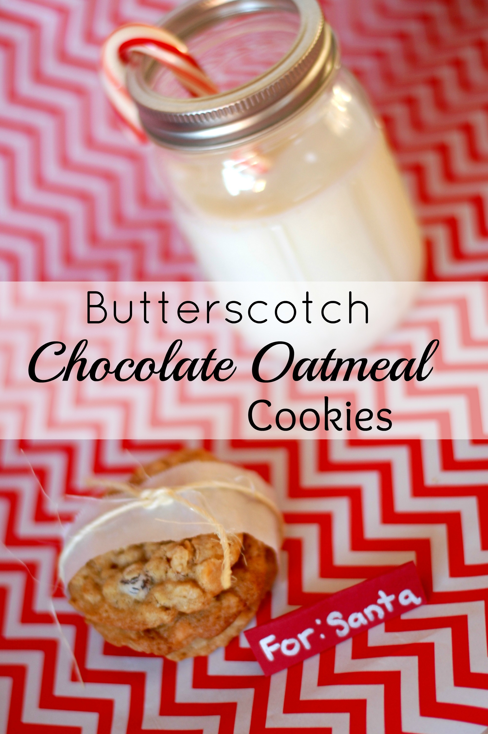 Oatmeal Butterscotch Chocolate Chip Cookies Recipe