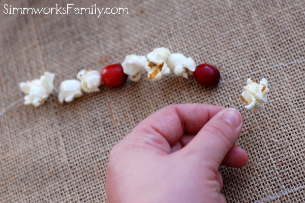 Jolly Time Popcorn Garland