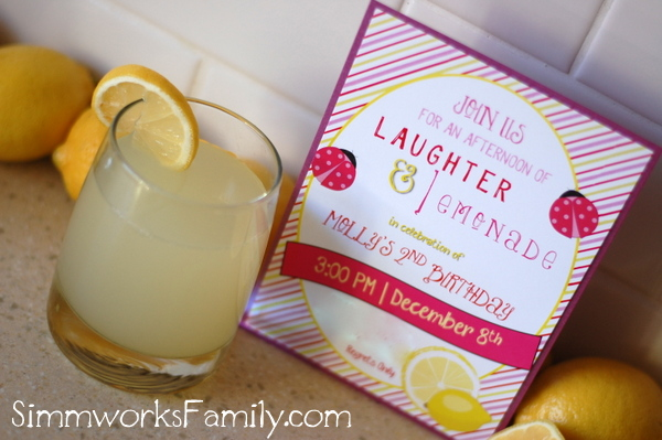 Ladybug Lemonade Party