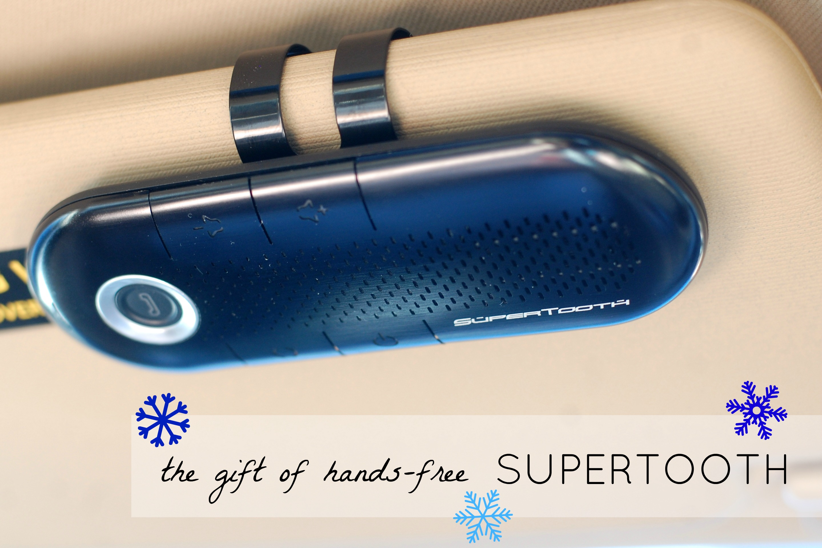 Supertooth Crystal gift of handsfree