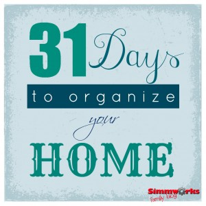 31 days to organize your home