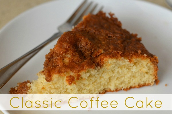 Classic Coffee Cake Recipe
