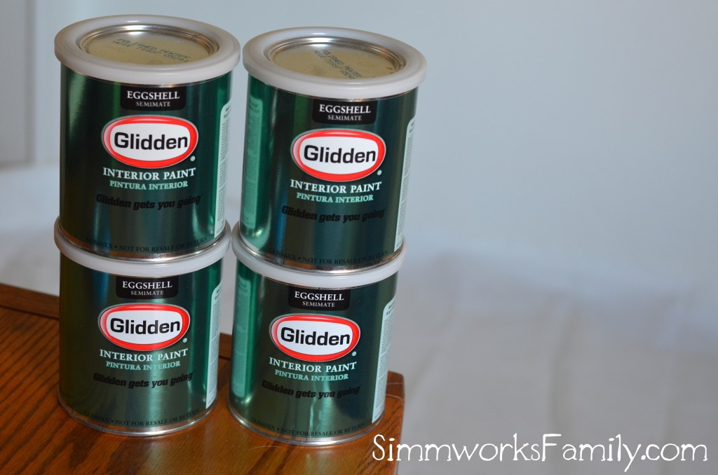 Glidden Paint cans