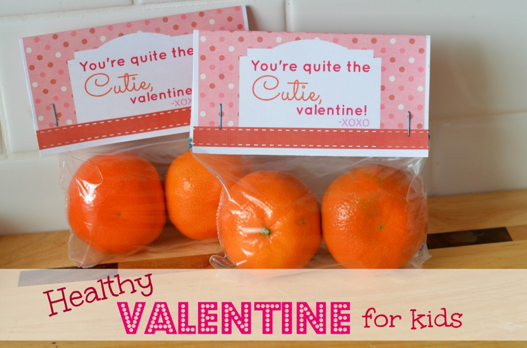 Healthy Valentine For Kids
