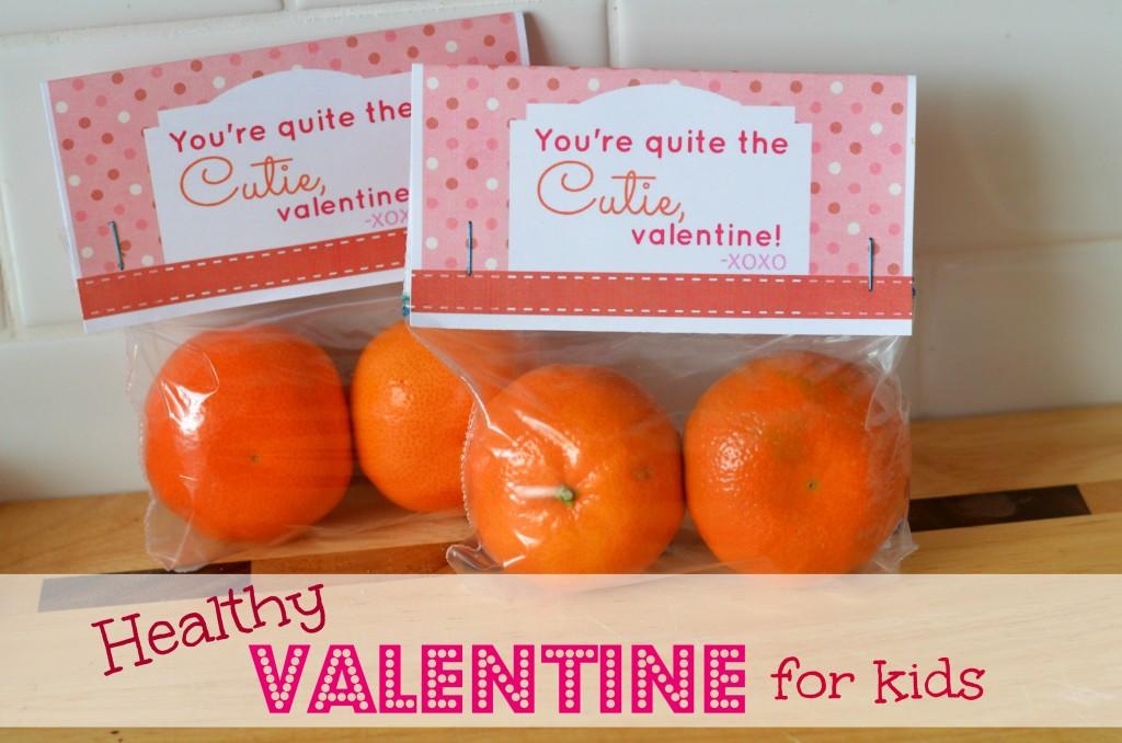 Healthy Valentine For Kids