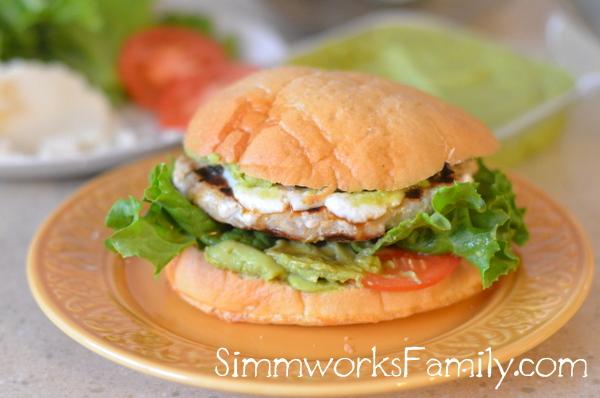 Wholly Guacamole Jalapeno Turkey Burger with Jennie-O