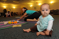 Baby and Me Prenatal and Postnatal Yoga Classes at Sharp