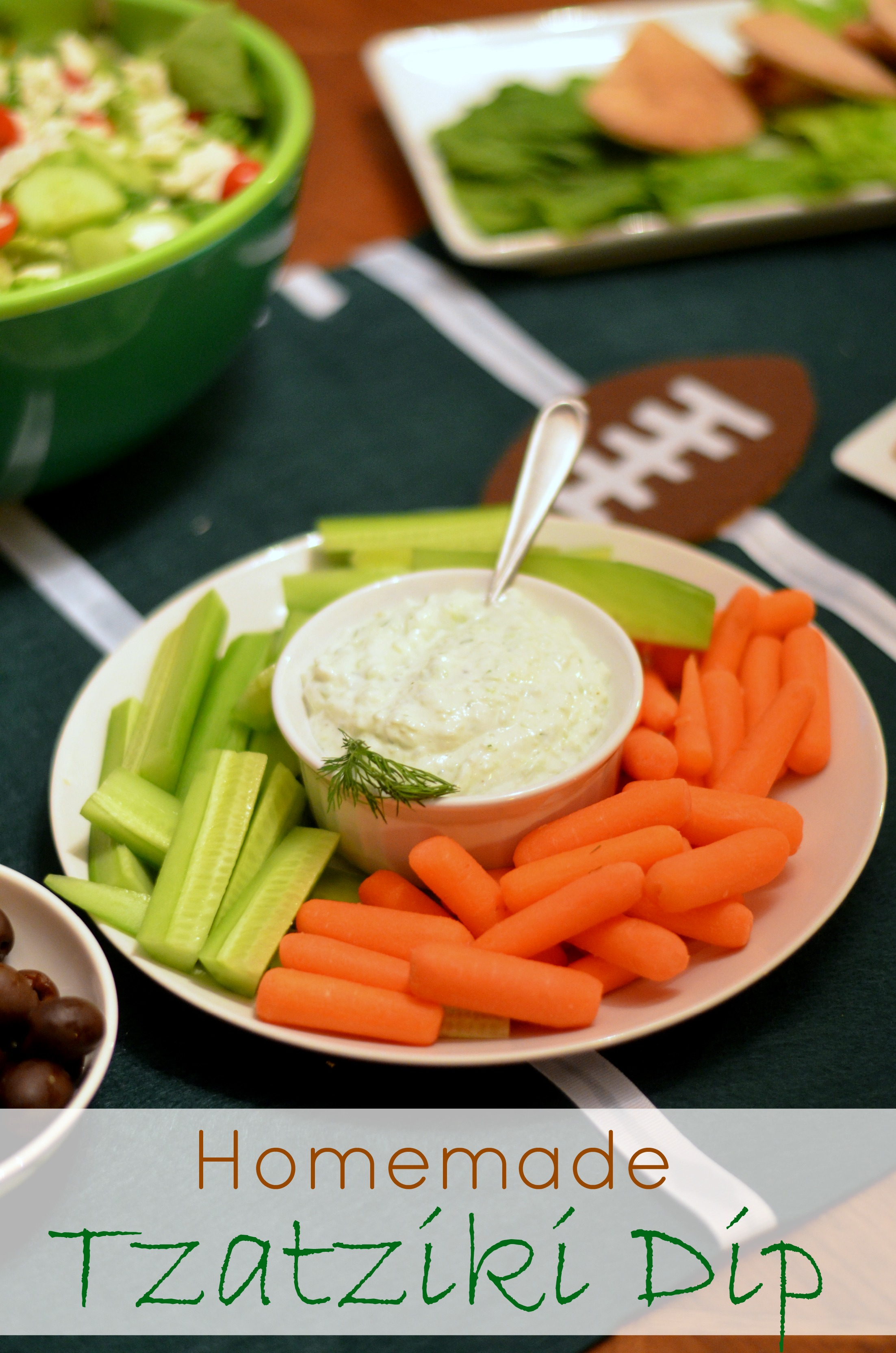 Homemade Tzatziki Dip Recipe