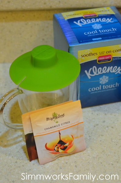 How to Keep the Germs Away soothing tea #ShareThe Soft