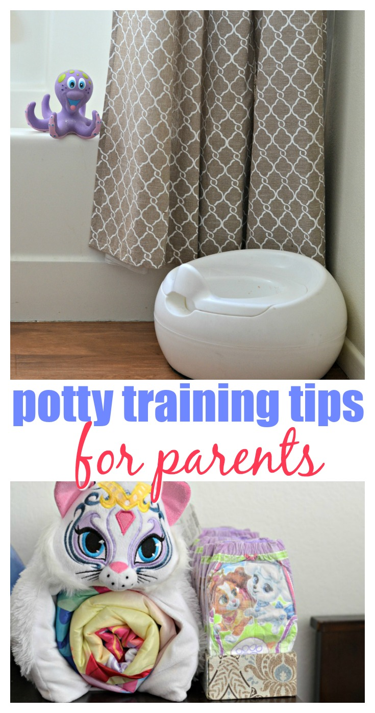 Is your little one showing readiness signs to potty train? It may be time to start! AD