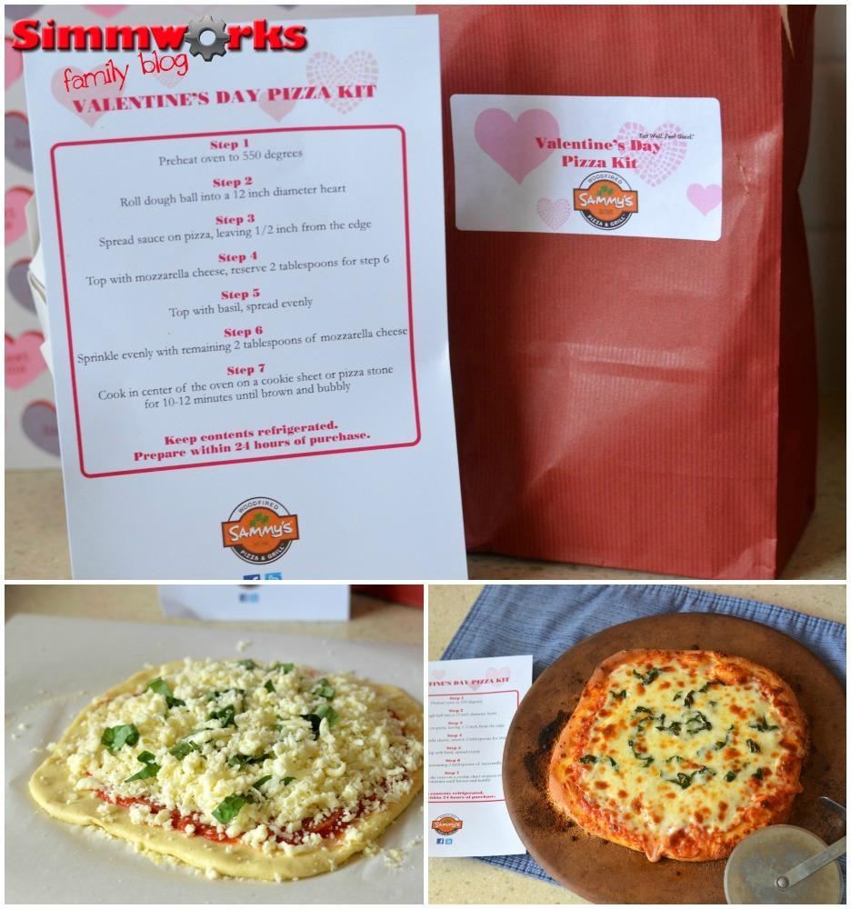 Sammy's Valentine's Day Pizza Kits