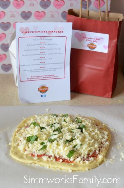 Valentine's Day Pizza Kits