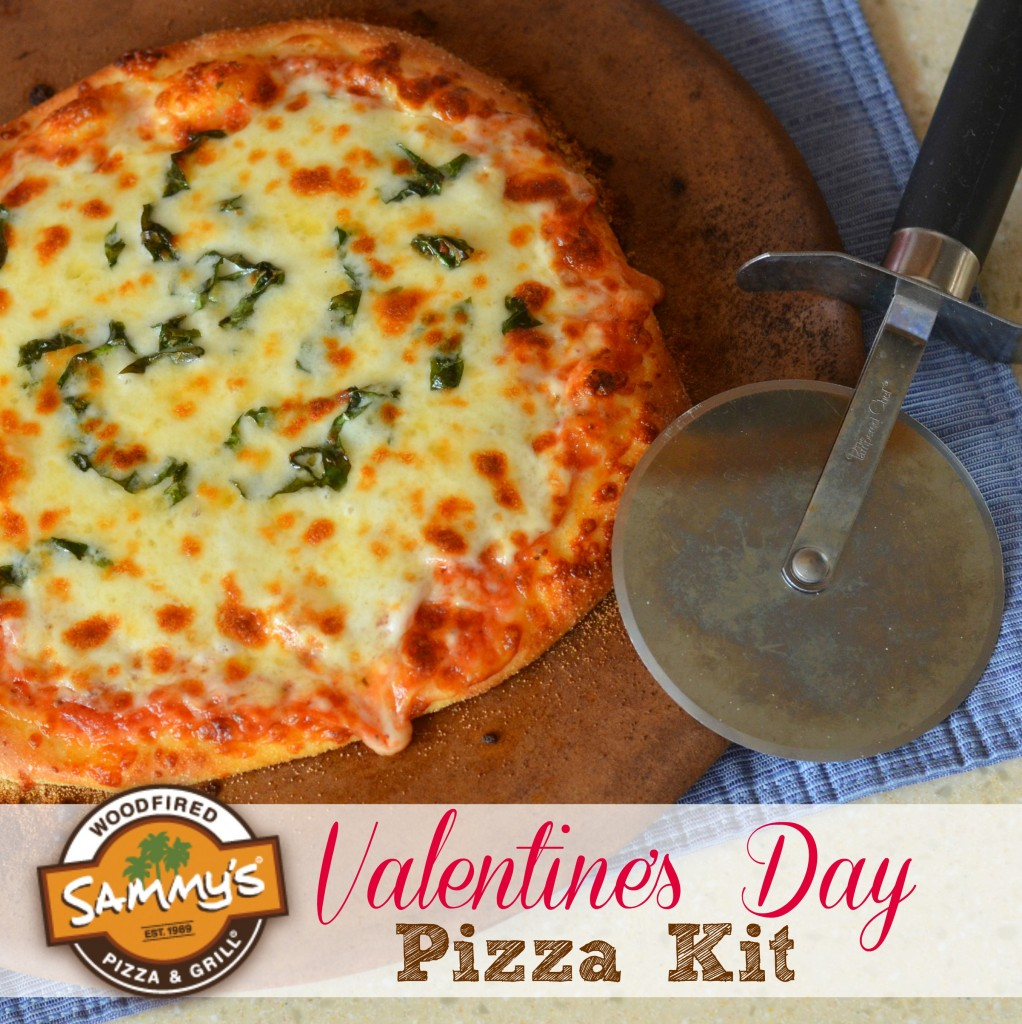 Sammy's Woodfired Pizza Valentine's Day Pizza Kits
