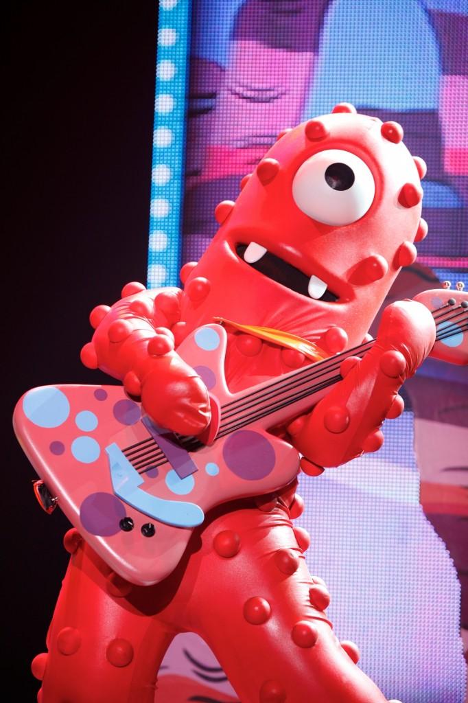 Yo Gabba Gabba Live San Diego Muno Guitar