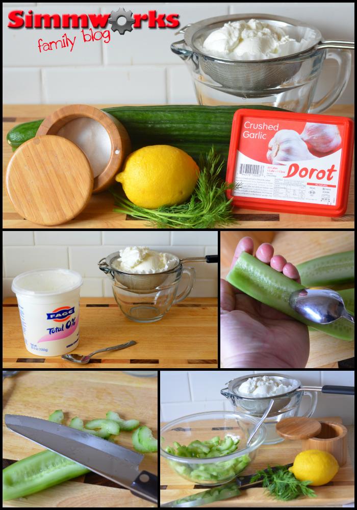 tzatziki dip ingredients
