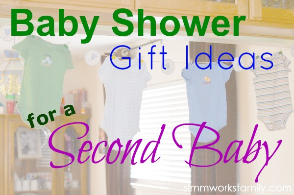 Baby Shower Gift Ideas for Second Baby