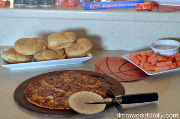 Basketball Party Snacks #SnackMadness 2