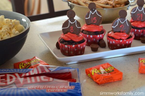 Basketball Party Snacks #SnackMadness 4