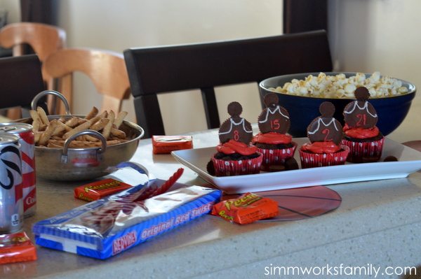 Basketball Party Snacks #SnackMadness 5