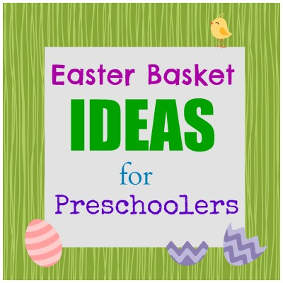 Easter basket ideas for preschoolers a crafty spoonful easter basket ideas for preschoolers negle Images