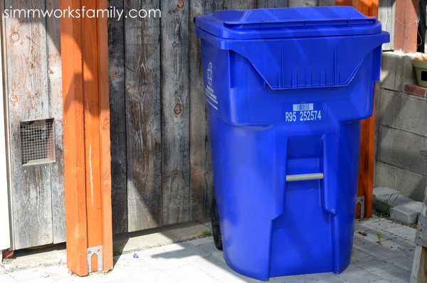 Getting Creative with Recycling Plastic - recycling bin