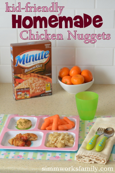 Kid-Friendly Homemade Chicken Nuggets