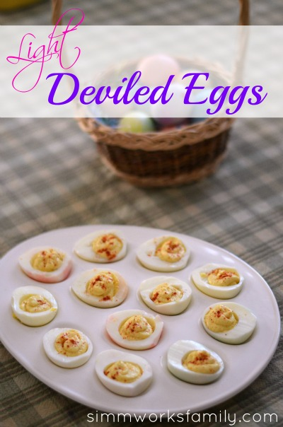 Light Deviled Eggs
