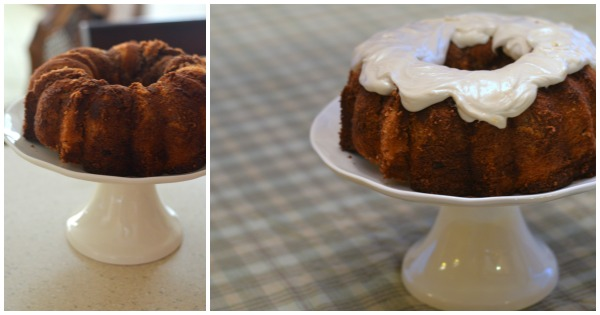 How To Frost A Bundt Cake Youtube