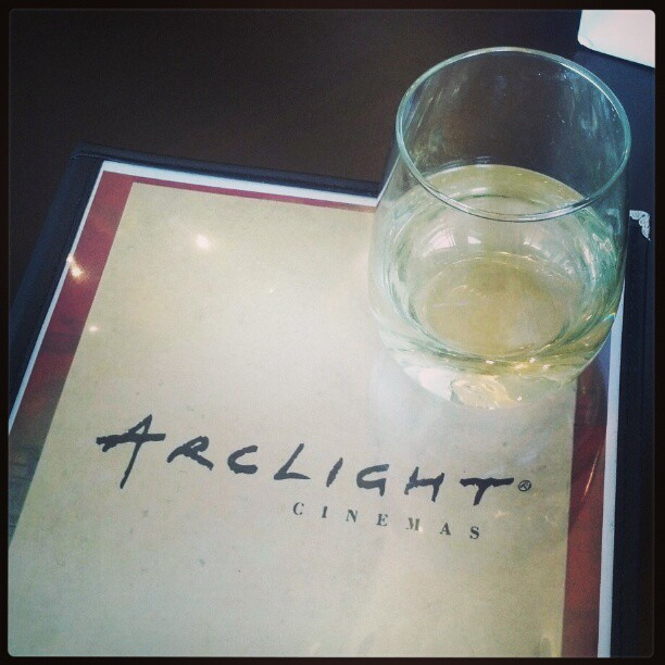 ArcLight Cinemas cafe