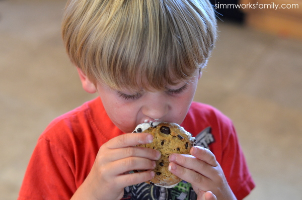 First Street Ice Cream Cookie Sandwich #ChooseSmart  enjoy with loved ones