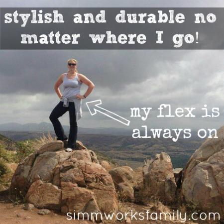 Fitbit Flex hiking