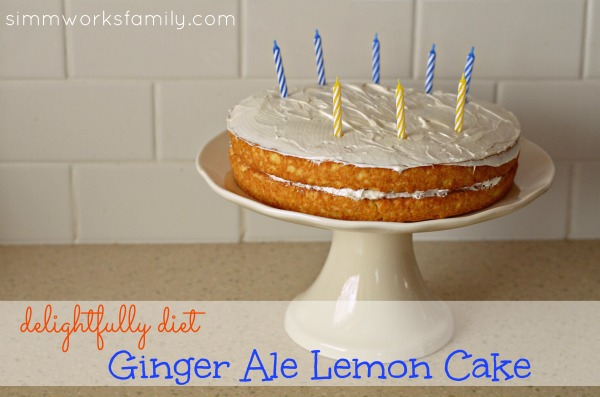 Ginger Ale Lemon Cake