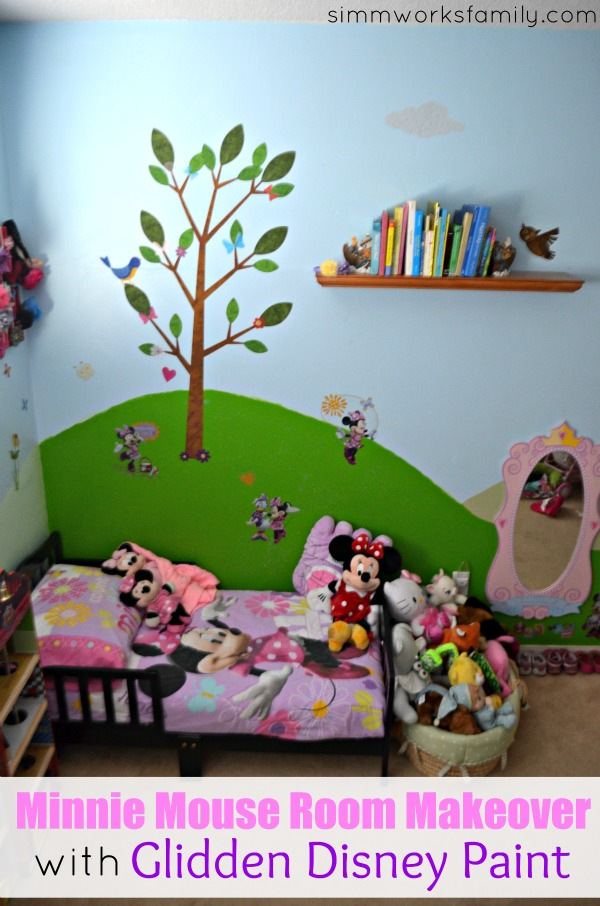 Minnie Mouse Fun with Glidden Disney Paint - final